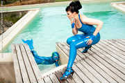 Blue Latex under the blue Sky 1