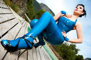 Blue Latex under the blue Sky 4