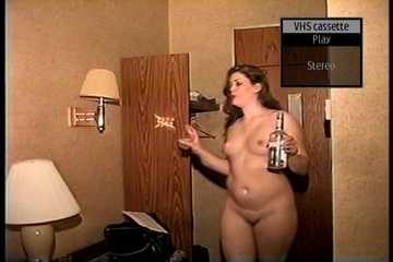 26 YEAR OLD SEXY RIVER PLAYS A PART OF A DOMINATRICES, COMES IN NAKED, PUTS ON BODY SUITE, CORSET, NIPPLE CLAMPS, HIGH HEELS,   SMOKES CIGARETTE AND DR1NKS RUM (D72-14)