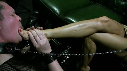 Mistress Jaqi - Kiss My Gorgeous, Golden, Stilletos Part 3