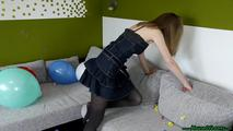 some poppings on the couch (sit, hairslide, knee) 3