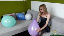 some poppings on the couch (sit, hairslide, knee) 7