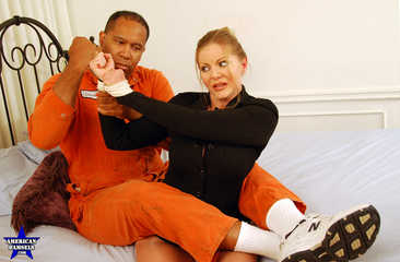 Photoset - The Convict's Captive Part Two - Amber Michaels