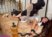 Maid and Burglar - Ariella Ferrera and Devon Savage 0