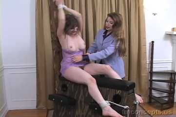 Lorelei is in for a Hell of a Tickling