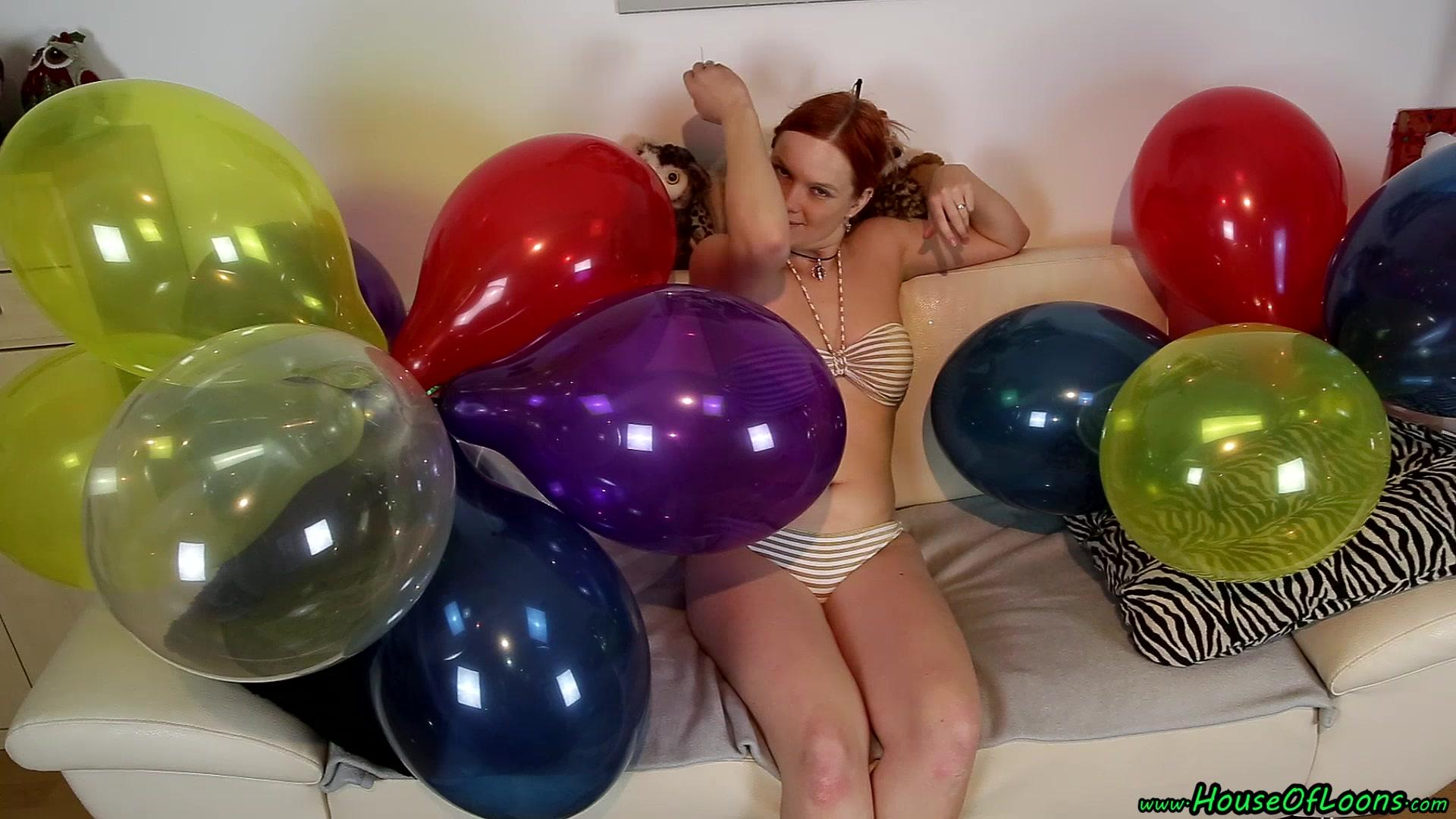 clipspool.com   bikini pinpop cluster balloons