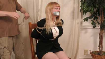 Moaning Damsel Lorelei StuffGagged Groped Tied and Abandoned